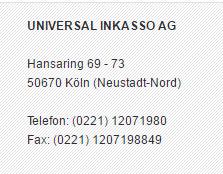 Universal Inkasso AG
